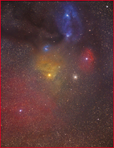 Rho Ophiuchus Complex - Link to Milky Way Section